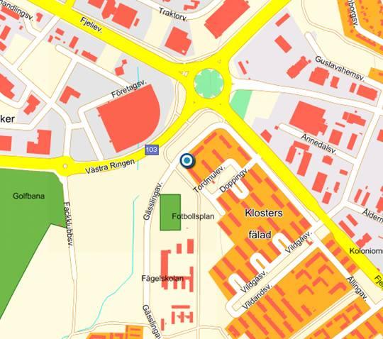 Lunds bridgeklubbs nya lokal p g sslingav gen 15 for Mobilia karta